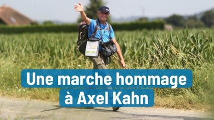 Une marche hommage à Axel Kahn
