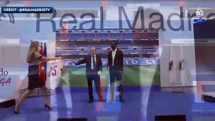 Eduardo Camavinga présente son  nouveau maillot