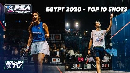 Squash: CIB Egyptian Open 2020 - Top Ten Shots