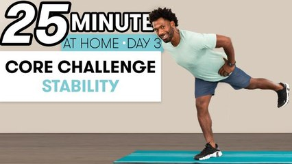 25-Minute Core Stability Workout - Challenge Day 3