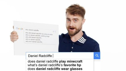 Daniel Radcliffe Answers MORE of the Web's Most Searched Questions