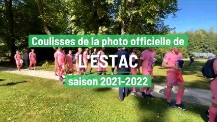 Coulisses de la photo officielle de l'Estac