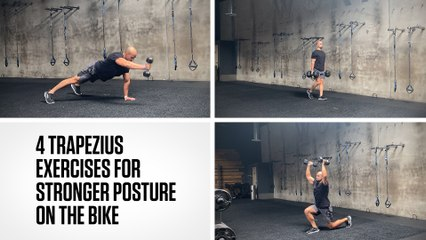 4 Trapezius Exercises for Stronger Posture on the Bike