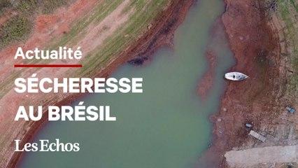 La sécheresse menace le Brésil d'une pénurie d'électricité