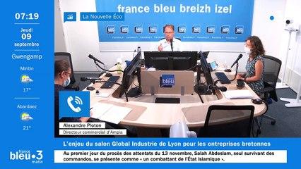 09/09/2021 - Le 6/9 de France Bleu Breizh Izel en vidéo