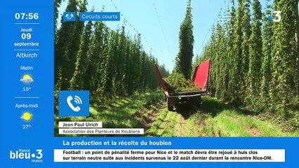 09/09/2021 - Le 6/9 de France Bleu Alsace en vidéo