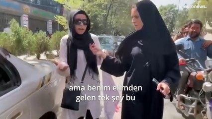 Afgan kadın öğrenci: Evde sıkışıp kalmaktansa ölmeyi tercih ederim   Video