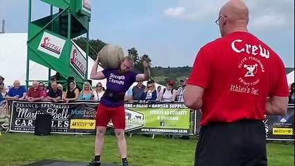 South Shields Stone Lifters in action at Wolsingham Show
