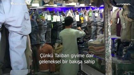Afgan erkekler Taliban korkusuyla pantolon ve tişört giymeyi bıraktı