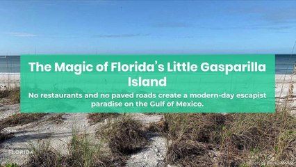 The magic of Florida's Gasparilla Island