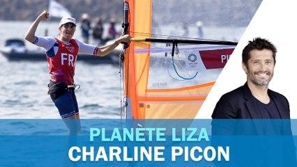 """Charline Picon : """"La grossesse est un sujet compliqué dans le sport"""""""