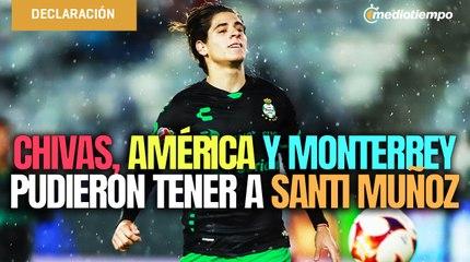 Santiago Muñoz, la joya de Santos que le ganaron en una visoria al América y a Chivas
