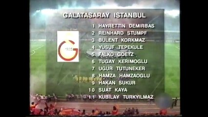 Galatasaray 0-0 Barcelona 24.11.1993 - 1993-1994 UEFA Champions League Group A Matchday 1 (Ver. 2)