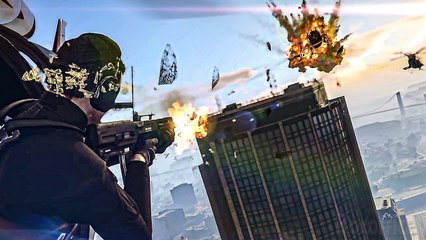 GRAND THEFT AUTO V and GRAND THEFT AUTO Online Bande Annoncer 4K