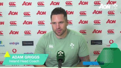 Griggs Looks Ahead To RWC2021 Europe Qualifier
