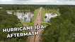 'Aerial Footage Shows the Distressing Aftermath of Hurricane Ida in Independence, Louisiana'