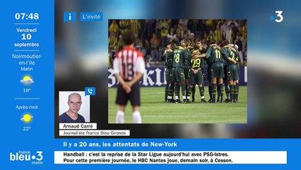 10/09/2021 - Le 6/9 de France Bleu Loire Océan en vidéo