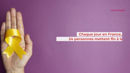 Chaque jour en France, 24 personnes mettent fin à leur vie