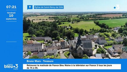 10/09/2021 - Le 6/9 de France Bleu Maine en vidéo