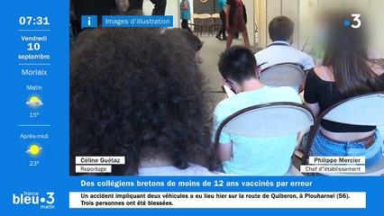 10/09/2021 - Le 6/9 de France Bleu Breizh Izel en vidéo