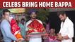 Sonu Sood to Arjun Bijlani: Celebs bring Ganpati Bappa home