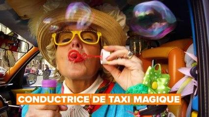 Héros du quotidien: conductrice de taxi magique