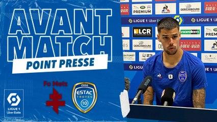 """FC Metz-ESTAC   J.Giraudon : """"Être costauds et jouer notre jeu"""""""