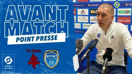 """FC Metz-ESTAC   L.Batlles : """" À nous d'élever notre niveau"""""""