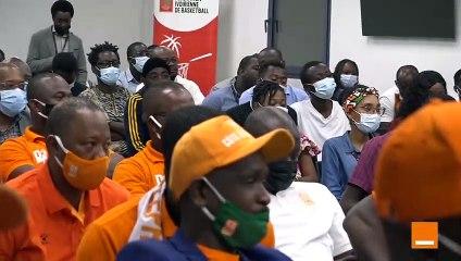 Meet & Greet avec les Eléphants basketteurs organisé par Orange Côte d'Ivoire
