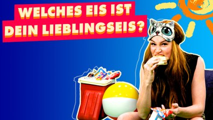 Model Jana Heinisch muss blind die Eissorten unserer Kindheit erraten!