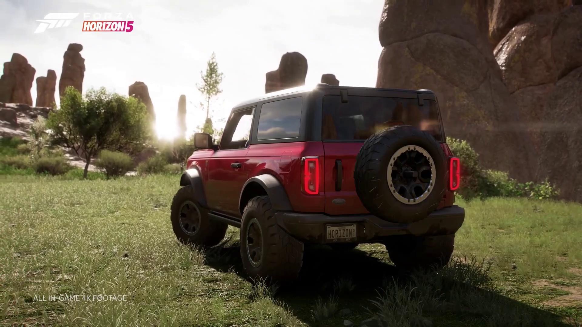 Forza Horizon 5 Game – Ford Bronco Badlands Trailer ✅ ⭐