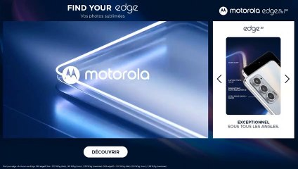 Motorola - Préroll Fiches Produits