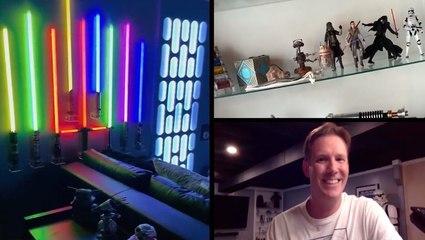 The Ultimate 'Star Wars' Basement — Creator Joins RTM