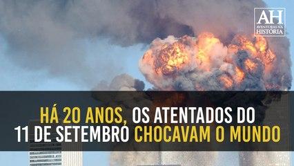 HÁ 20 ANOS, OS ATENTADOS DE 11 DE SETEMBRO CHOCAVAM O MUNDO