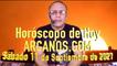 HOROSCOPO DE HOY de ARCANOS.COM - Sábado 11 de Septiembre de 2021