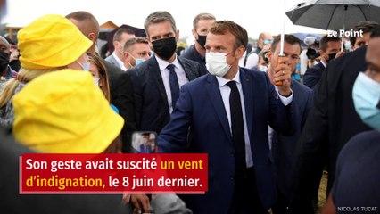 Sorti de prison, l'homme qui a giflé Macron n'a « aucun regret »