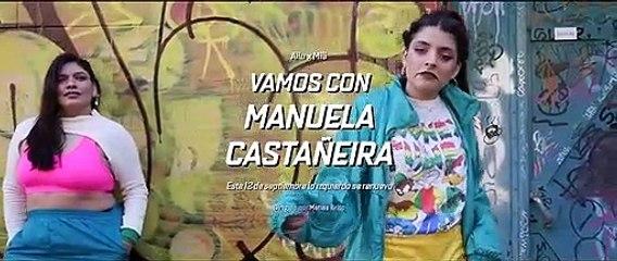 El trap de Manuela Castañeira en Palermo, lejos de la Provincia en la que hace campaña