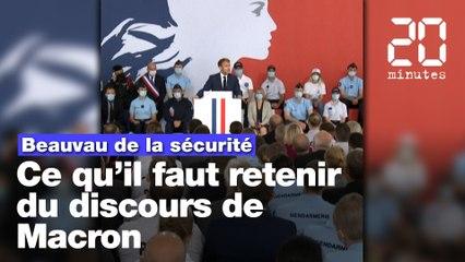Beauvau de la sécurité: Ce qu'il faut retenir du discours d'Emmanuel Macron
