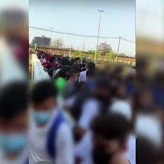 Grupos de adolescentes brigam na entrada shopping e lojistas fecham as portas