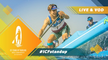 2021 ICF Stand Up Paddling (SUP) World Championships Balatonfüred Hungary / Technical: Semis, B Finals