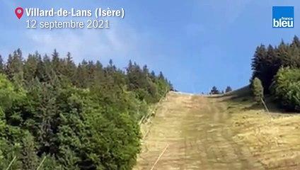 Crash d'un hélicoptère de la Sécurité civile avec cinq personnes à bord à Villard-de-Lans en Isère