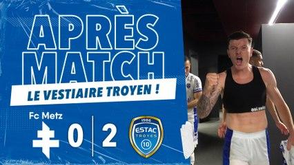 FC Metz 0-2 ESTAC   Joie et cri de victoire !
