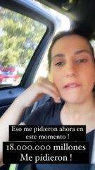 Cinthia Fernández y su denuncia de que le pidieron 18 millones de pesos para hacer aparecer sus boletas en las escuelas de La Matanza