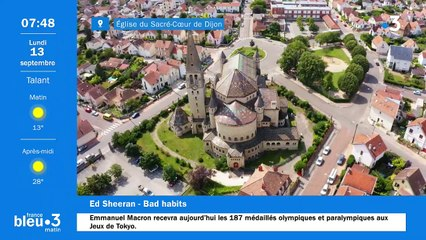 13/09/2021 - Le 6/9 de France Bleu Bourgogne en vidéo