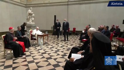 Pope Francis jokes about his age
