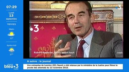 13/09/2021 - Le 6/9 de France Bleu Breizh Izel en vidéo