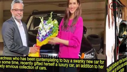 Post the success of 'Mimi', Kriti Sanon gifts herself a swanky new car!
