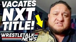 Samoa Joe INJURY! WWE CUTS In NXT! WWE Heat Over CM Punk! ROH Results   Wrestling News