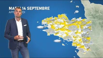 Bulletin météo pour le mardi 14 septembre 2021