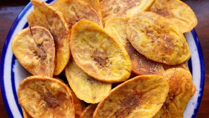 Baked Plantain Chips Will Make You Fall In Love With Simplicity Again